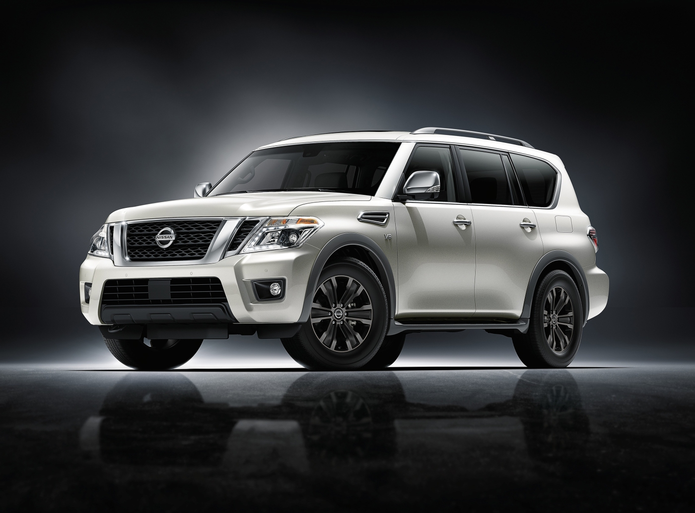 2017 nissan armada a driveways review the review garage. Black Bedroom Furniture Sets. Home Design Ideas