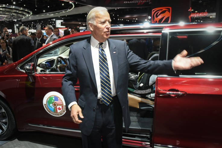 Vice President Joe Biden Visits 2017 NAIAS