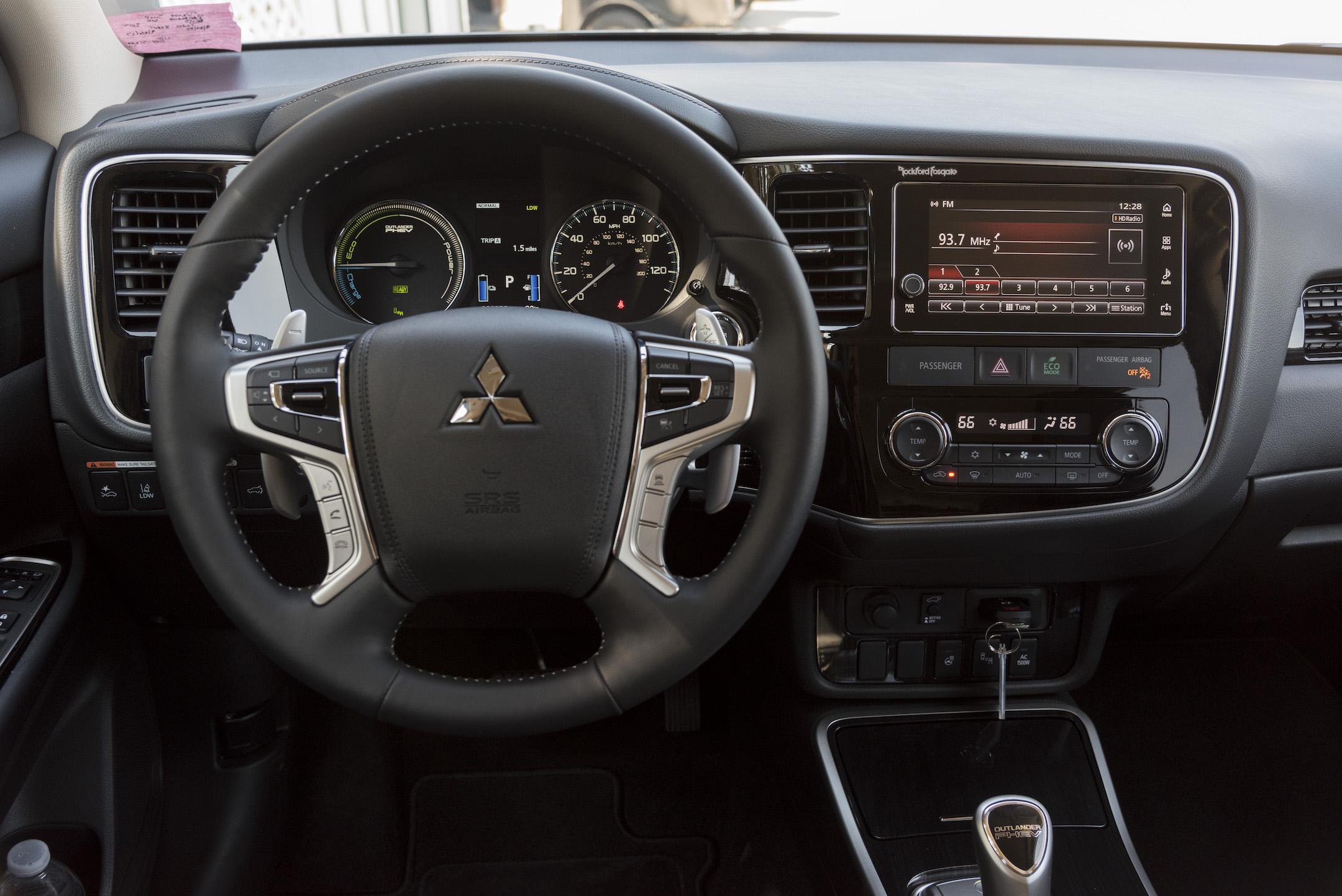 2018 Mitsubishi Outlander PHEV Press Launch