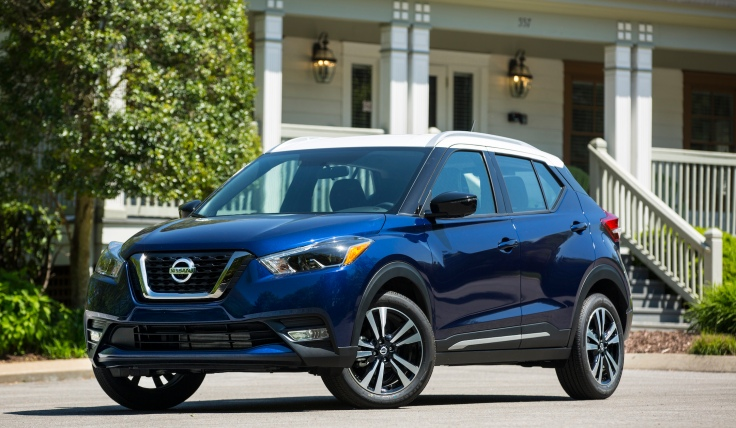 2018 Nissan Kicks Blue
