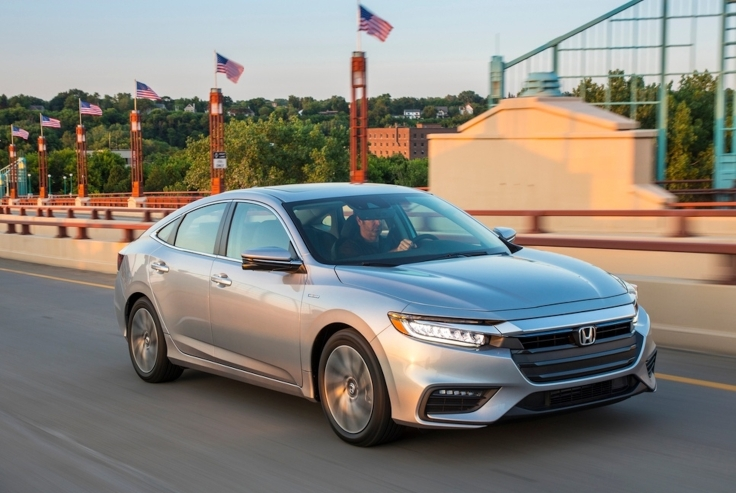 The 2019 Honda Insight Goes On Sale