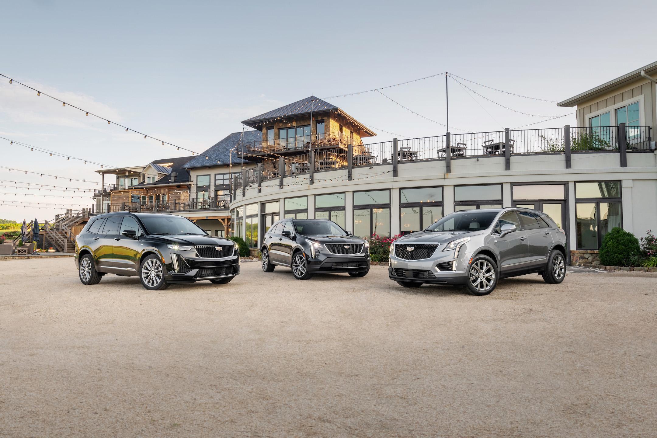 Cadillac SUV family