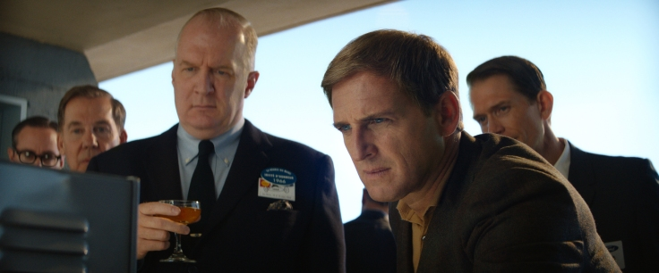 Tracy Letts and Josh Lucas in Twentieth Century Fox's FORD V FERRARI.