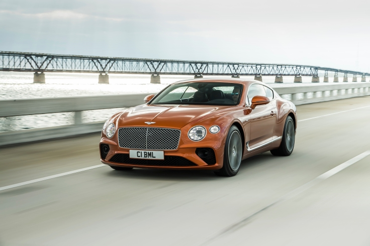 Bentley Continental GT V8 1