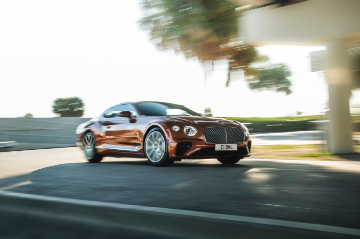 Bentley Continental GT V8 3