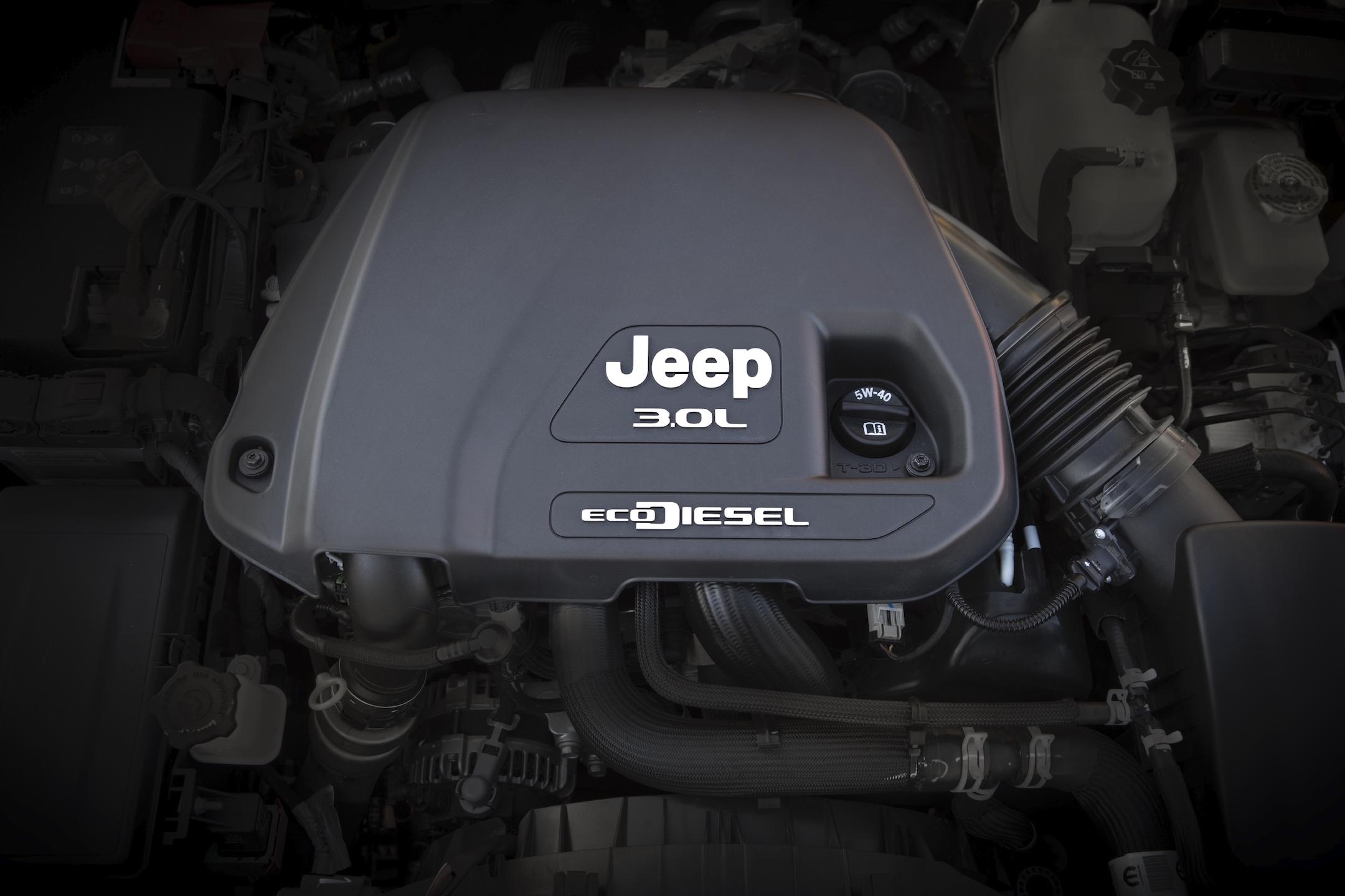 2020 Jeep® Wrangler 3.0-liter V-6 EcoDiesel engine