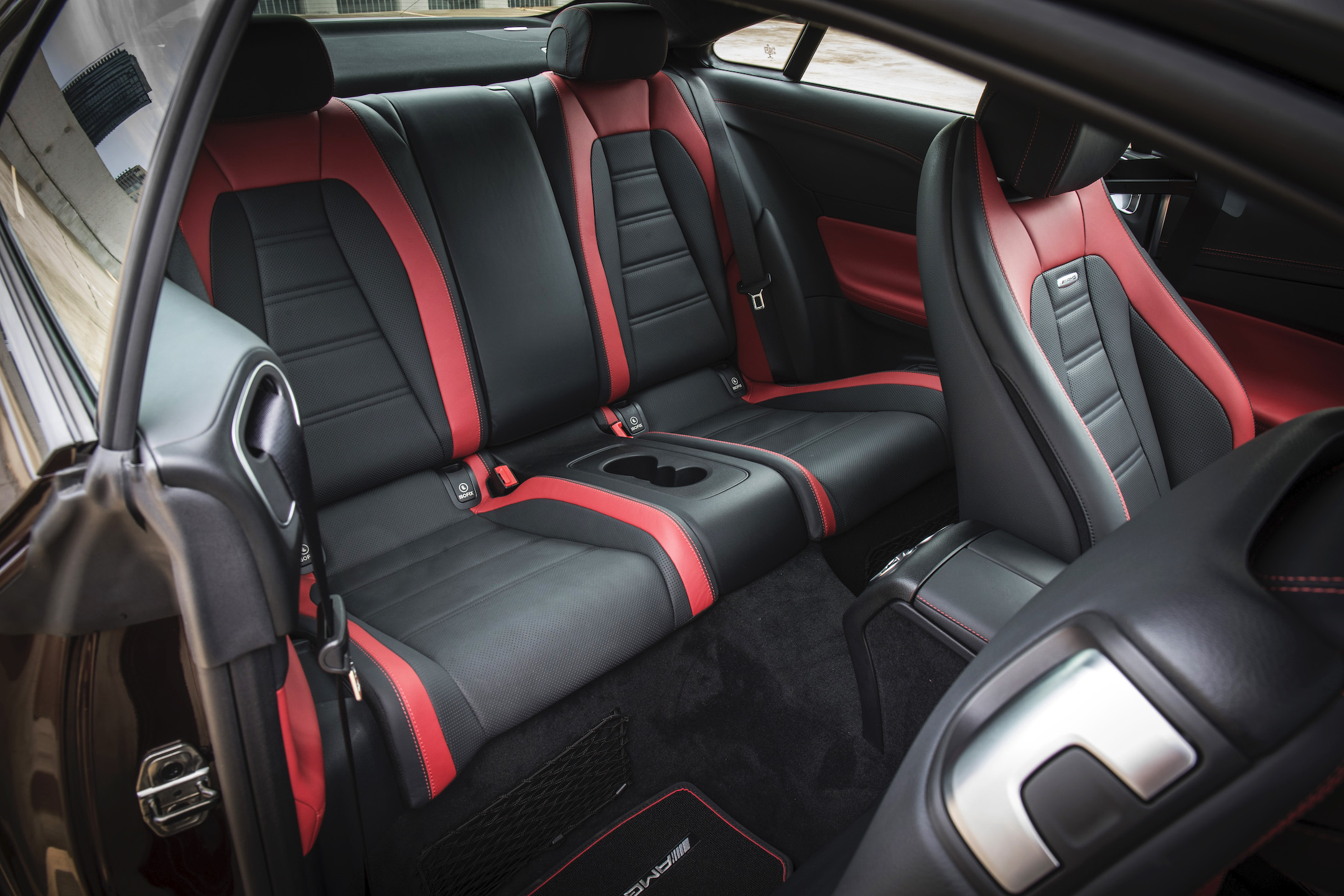 Mercedes-AMG E 53 4MATIC+ Coupe, rubellite red. Austin 2018