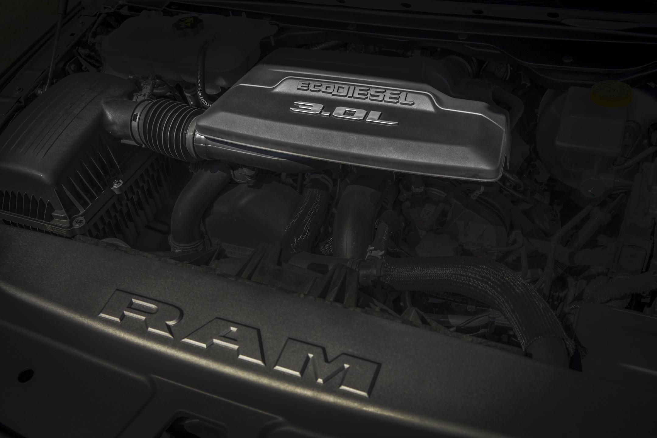 2020 Ram 1500 3.0-liter V-6 EcoDiesel engine