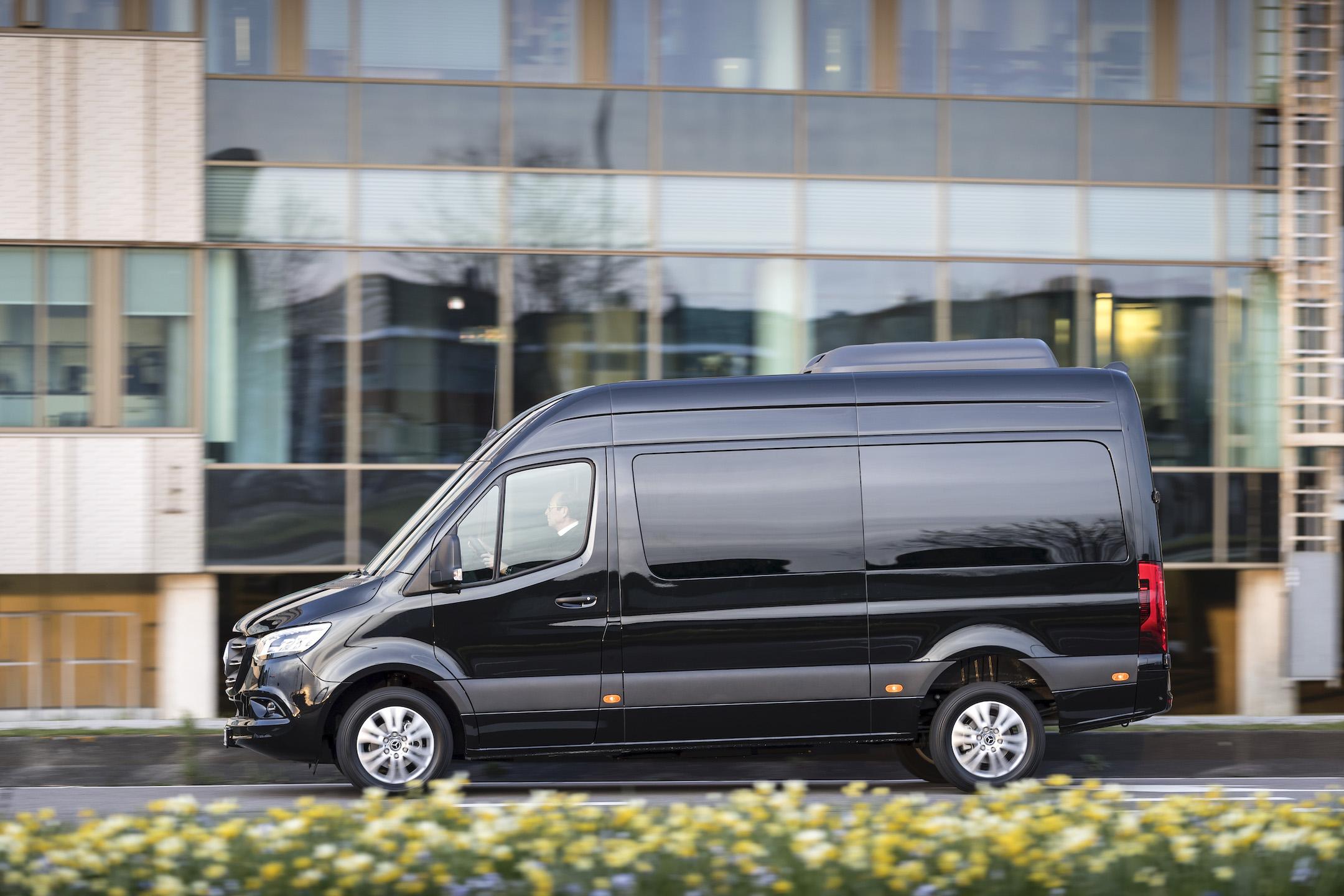 Pressefahrvorstellung Mercedes-Benz Sprinter, Amsterdam 2018 // Press test drive Mercedes-Benz Sprinter, Amsterdam 2018